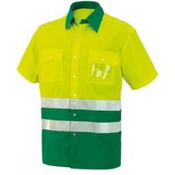 Camisa A.V. bicolor M/C