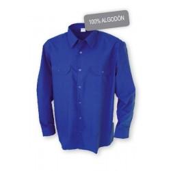 Camisa M/L con bolsillos