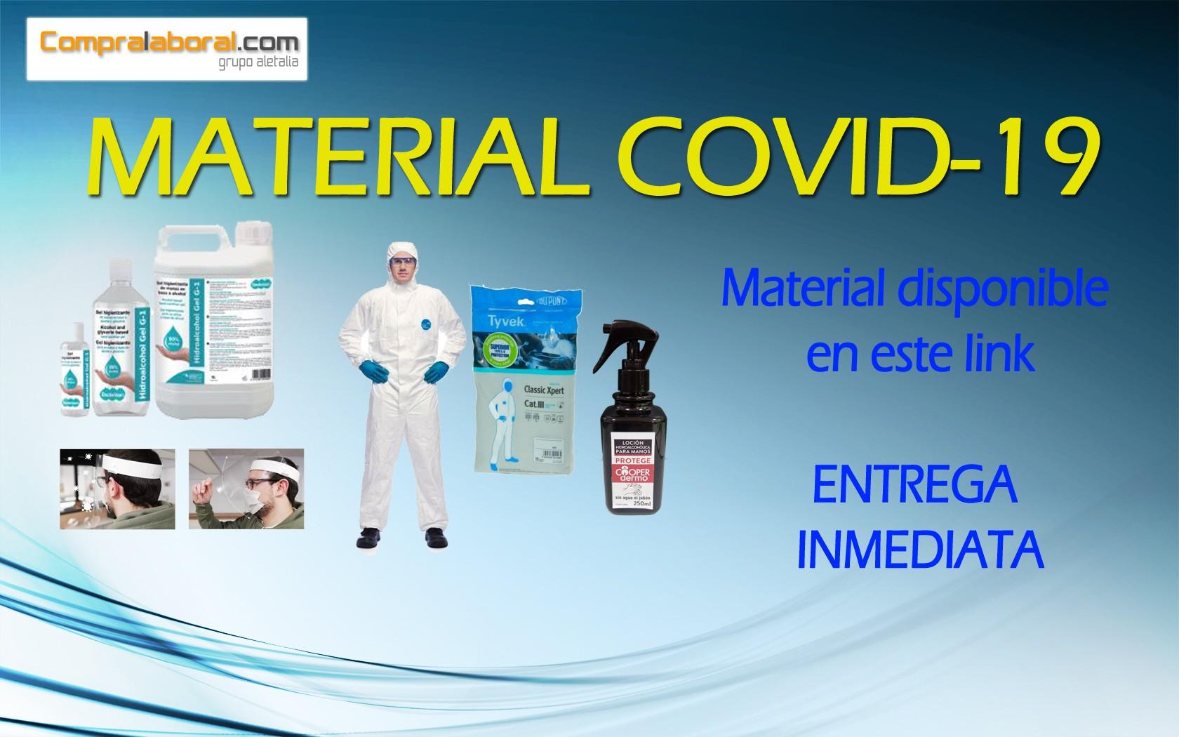 Productos disponibles COVID-19