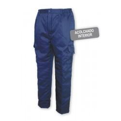 Pantalón multibolsillos acolchado